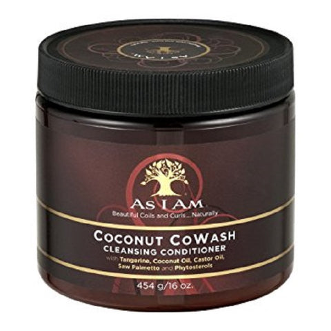 As I Am Coconut CoWash Cleansing Conditioner, 16oz 858380002141A575