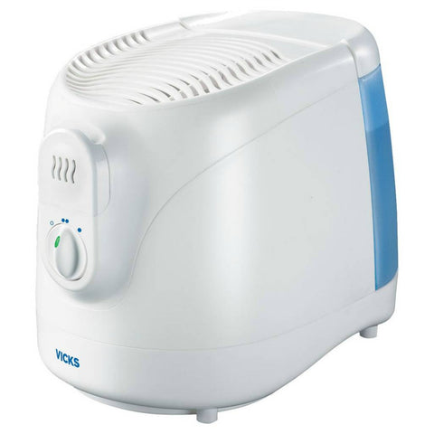 Vicks Filtered Cool Moisture Humidifier, White, 0.8gal 328785003208A2752
