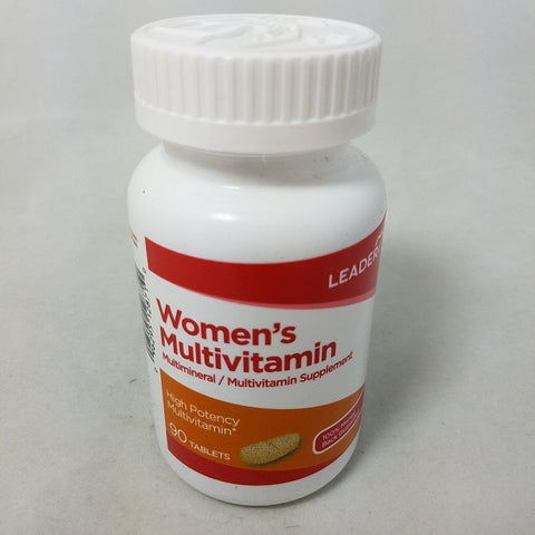 Leader Women's Multivitamin Tablets, 90ct 096295128710A680