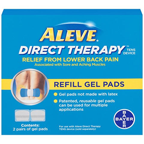 Aleve Direct Therapy Refill Gel Pads, 2pairs 325866564948S1260