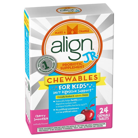 Align JR Kids Probiotic, Cherry Smoothie, 24ct 037000961727S2197