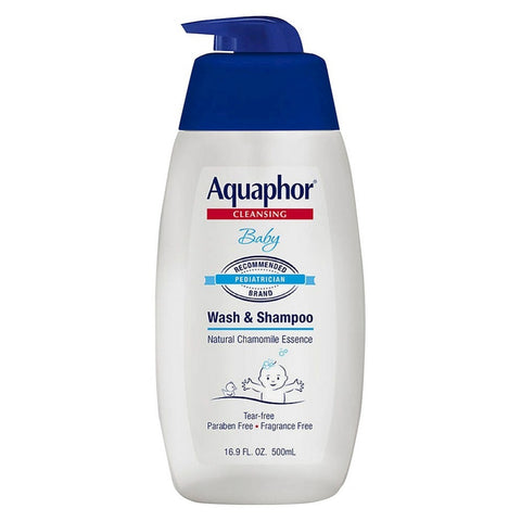 Aquaphor Cleansing Baby Wash & Shampoo, 16.9oz 072140021092A678