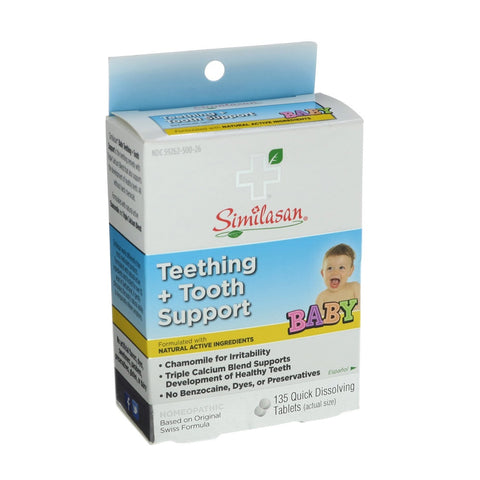 Similasan Baby Teething + Tooth Support Tablets, 135ct 094841820002A500