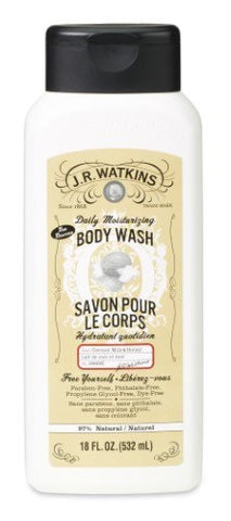 J.R. Watkins Daily Moisturizing Body Wash, 18oz 813724020625S431