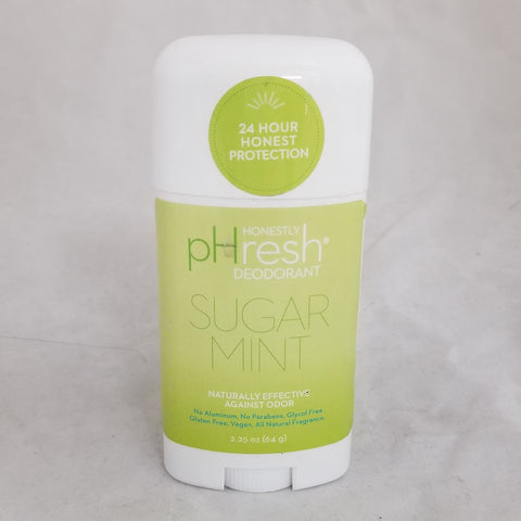 pHresh Natural Deodorant, Sugar Mint, 2.25oz 894269002086S518