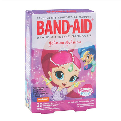 Band-Aid Assorted Size Bandages, Shimmer & Shine, 20ct 381371170821A223