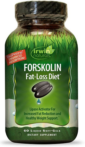 Irwin Naturals Forskolin Fat-Loss Diet Softgels, 60ct 710363584214T1187