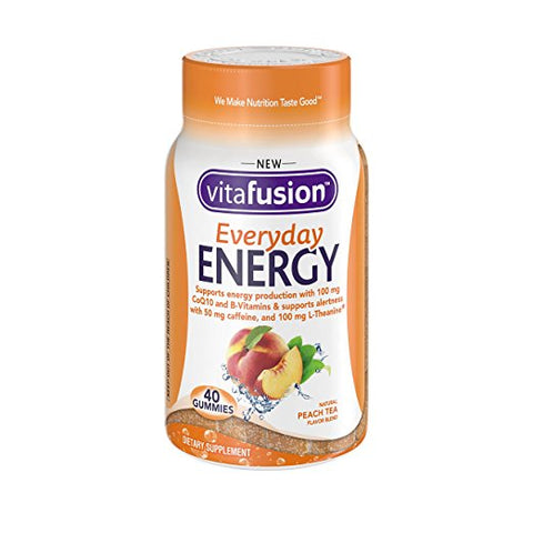 Vitafusion Everyday Energy Gummies, Peach Tea, 40ct 027917007007F869