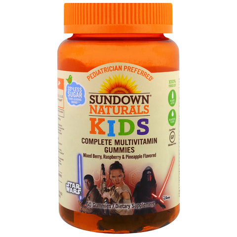SD Kids Star Wars Multiviamin Gummies, 60ct 076460684579S437