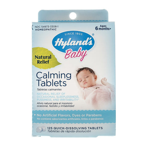 Hyland's Natural Relief Calming Tablets, 125ct 354973330818A485