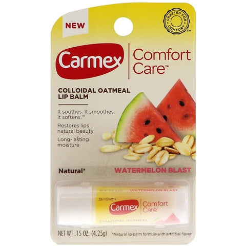 Carmex Comfort Care Lip Balm, Watermlon Blast, .15oz 083078007942G115