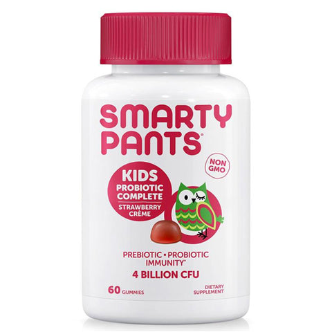 SmartyPants Kids Probiotic Complete, Strawberry, 60ct 817053020059T925