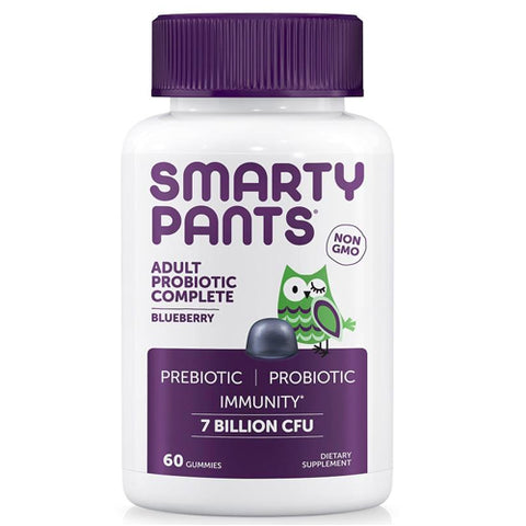 SmartyPants Adult Probiotic Complete, Blueberry, 60ct 817053020035T1150