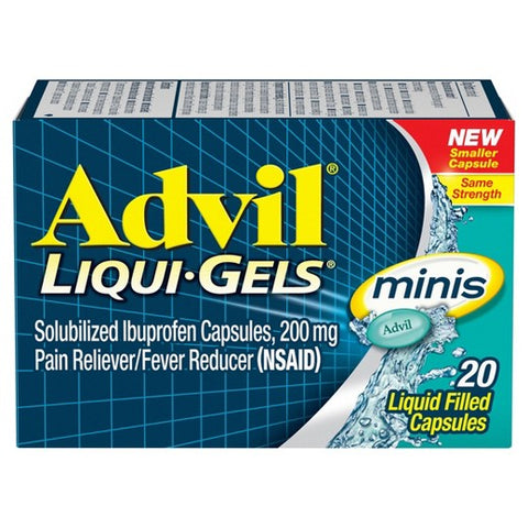Advil Liqui-Gels Minis Liquid Filled Capsules, 20ct 305731769203A294