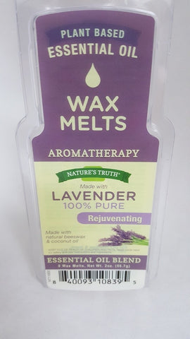 Nature's Truth Rejuvenating Wax Melts, Lavender, 2oz 840093108395T384