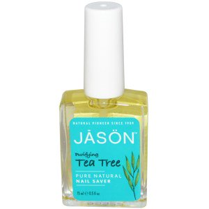Jason Tea Tree Pure Natural Nail Saver, 0.5oz 078522030324F365