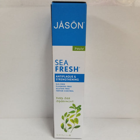 Jason Sea Fresh Toothpaste Deepsea Spearmint 078522015109F202