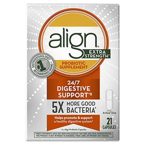 Align Extra Strength Probiotic Capsules, 21ct 037000505051A1790