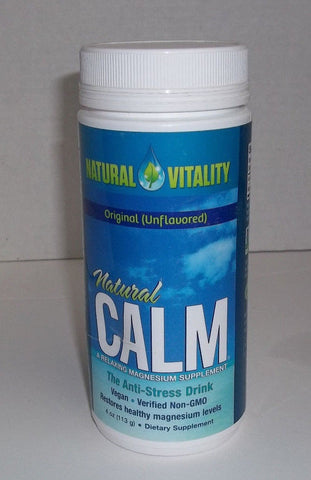 Natural Vitality Calm Anti Stress Drink Unflavored 4oz 183405000001S836