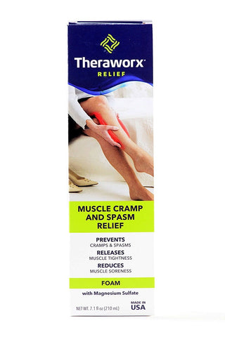 Theraworx Muscle Cramp and Spasm Relief Foam, 7.1oz 893198002372A1244