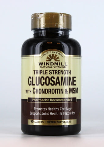 Windmill Glucosamine/Chondroitin/MSN Tablets, 90ct 035046004040A1234