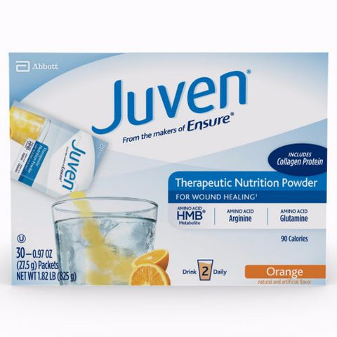 Juven Therapeutic Nutrition Powder, Orange, 30pktsX6ct 659781666747A36608
