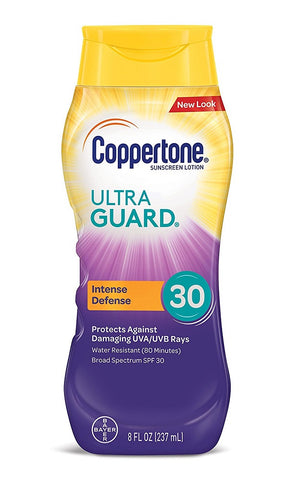 Coppertone Ultra Guard Intense Defense, SPF50, 8oz 041100058133A767