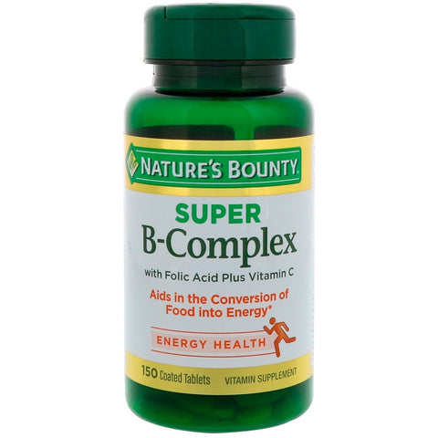 Nature's Bounty Super B-Complex Coated Softgels, 150ct 074312131684A695