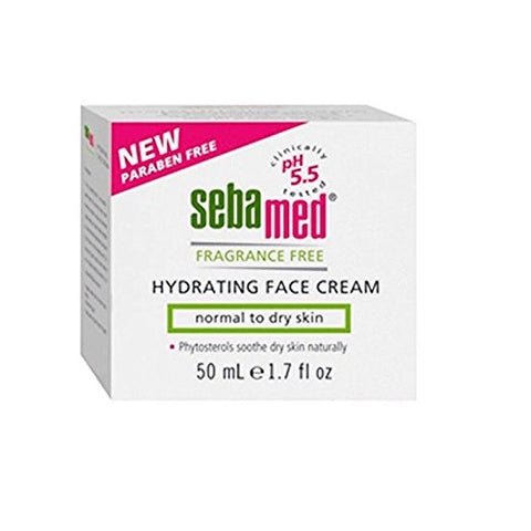 Sebamed Fragrance Free Hydrating Face Cream, 1.7oz 850039001864A919