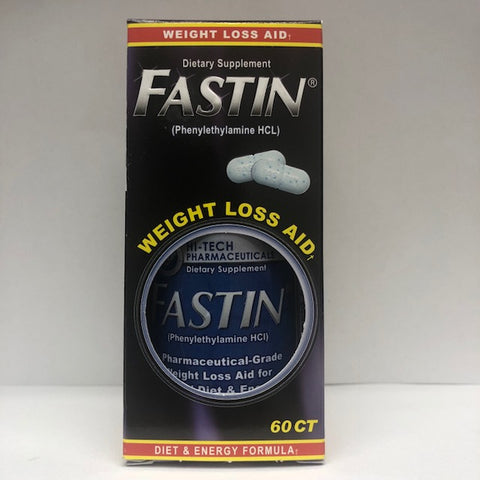 Fastin Weight Loss Aid Dietary Supplement, 60ct 853598003485G3023