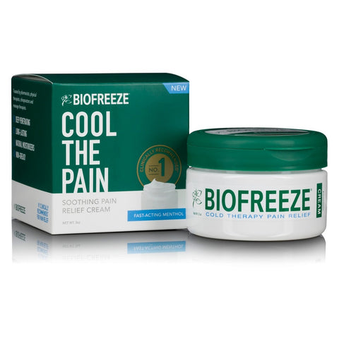 Biofreeze Cool The Pain Relief Cream Menthol, 0.3oz 731124001009G784