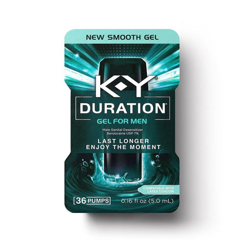 K-Y Duration Gel for Men, 36 Pumps 067981967500A1801