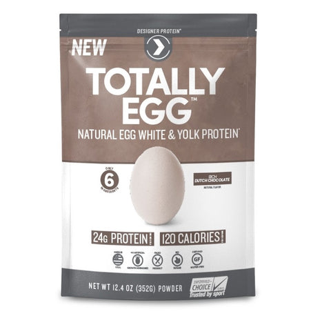 Totally NaturalEgg White+Yolk Protein, Dutch Chocolate 844334011581G1316