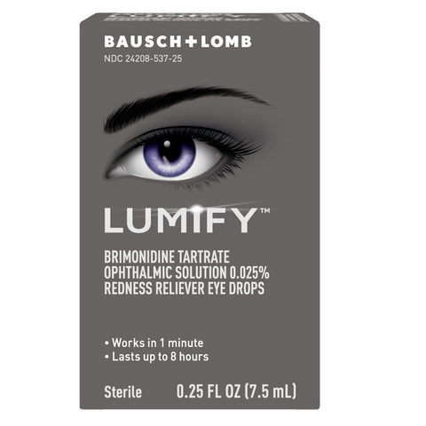 Lumify Sterile Redness Reliever Eye Drops, 0.25oz 310119537251G1229