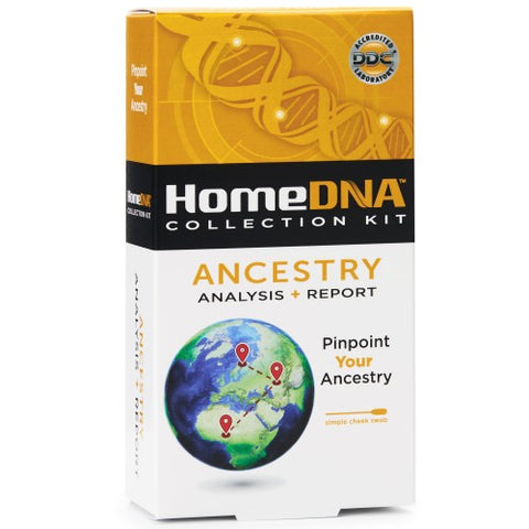 HomeDNA Ancestry Analysis + Report Kit, 1ct 855462007018A287
