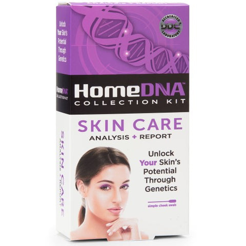 HomeDNA Skin Care Analysis + Report Kit, 1ct 855462007032A287