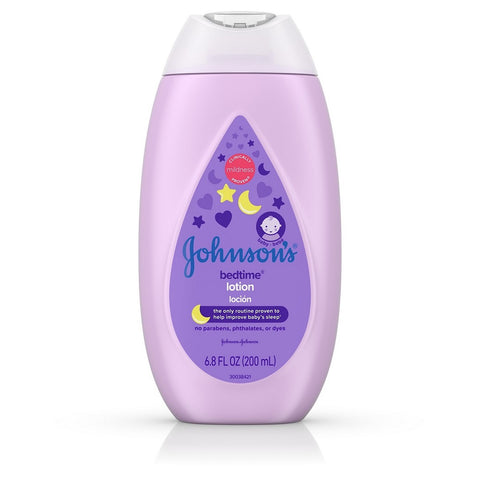 Johnson's Bedtime Lotion, 6.8oz 381371174607A334