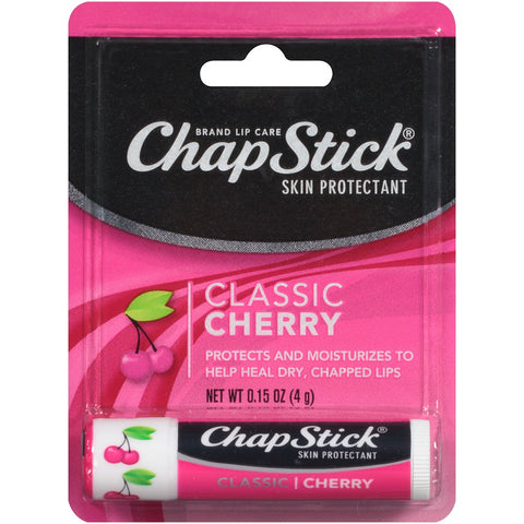 ChapStick Skin Protectant, Classic Cherry, 0.15oz 305730705127A115