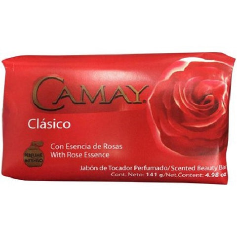 Camay Scented Beauty Bar, Clasico, 4.98oz 859581006037A073