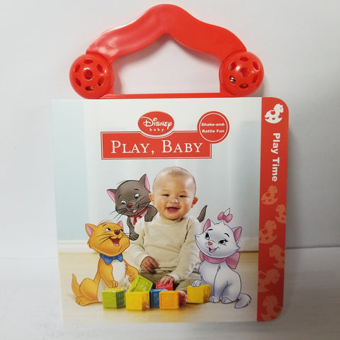 Disney Baby Shake-and-Rattle Fun Play Time Book, 1ct 9781423128489A050
