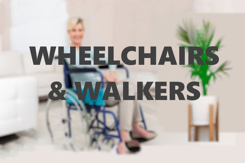 Wheelchairs Walkers