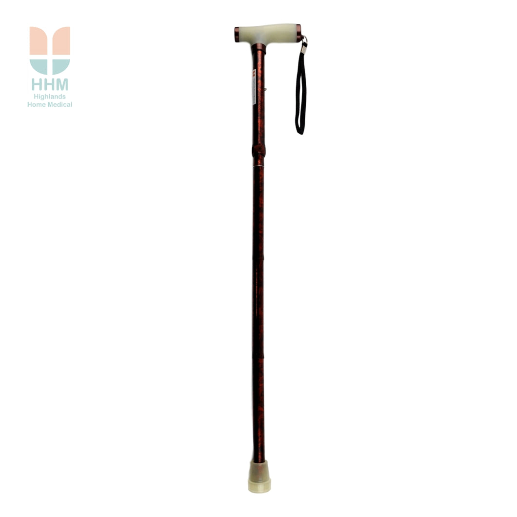 Glow & Go Folding Walking Stick