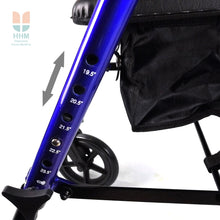 Height Adjustable Rollator