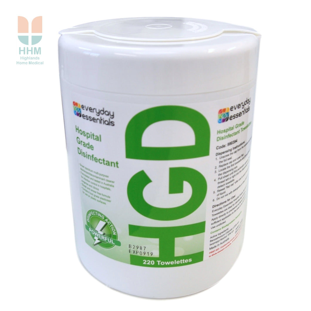 Hospital Grade Disinfectant Wipes