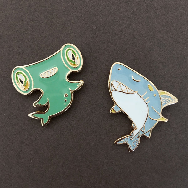 Ocean Spirit: Shark pin
