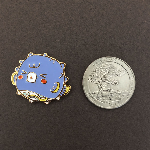 Ocean Spirit: Pufferfish pin