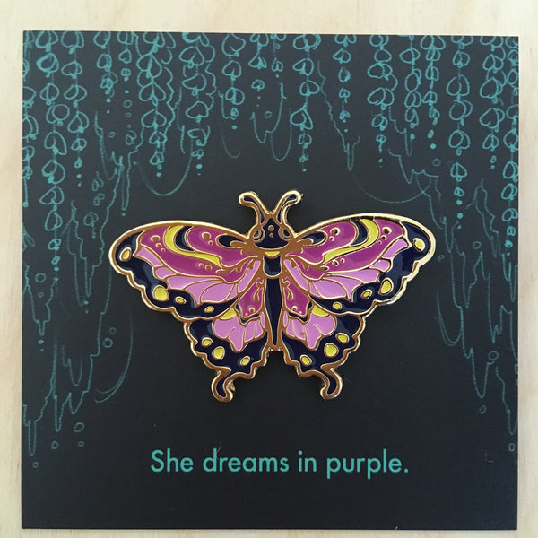 Insect Spirits: Butterfly Purple