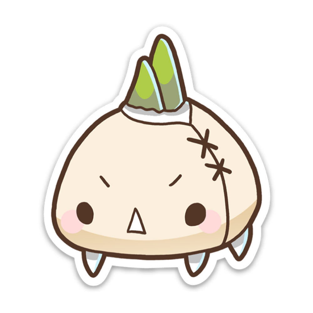 Garlic Monster Sticker