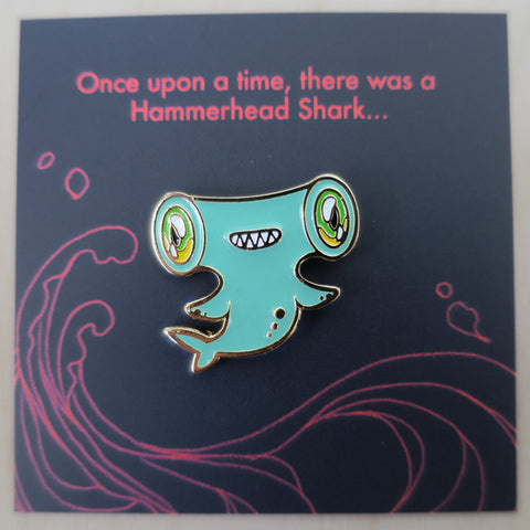 Ocean Spirit: Hammerhead Shark pin