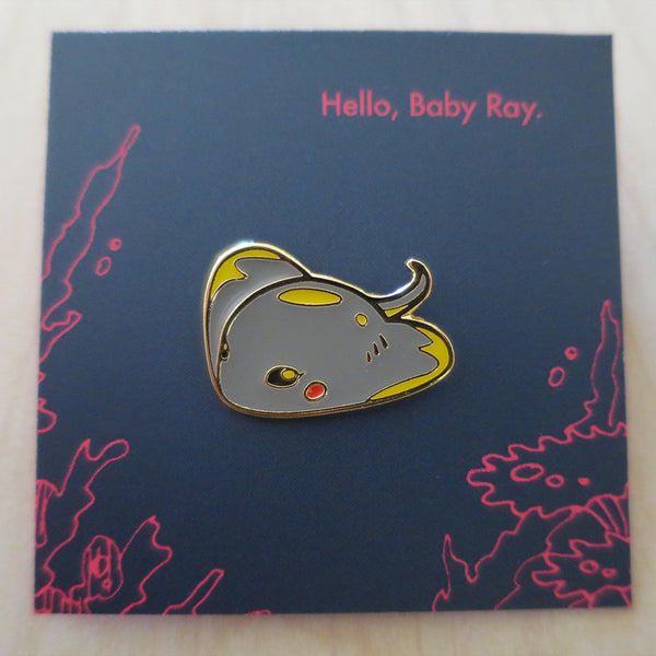 Ocean Spirit: Hello Baby Ray pin